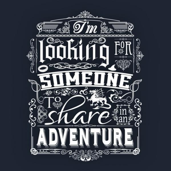 Gandalf Share In An Adventure tshirt closeup