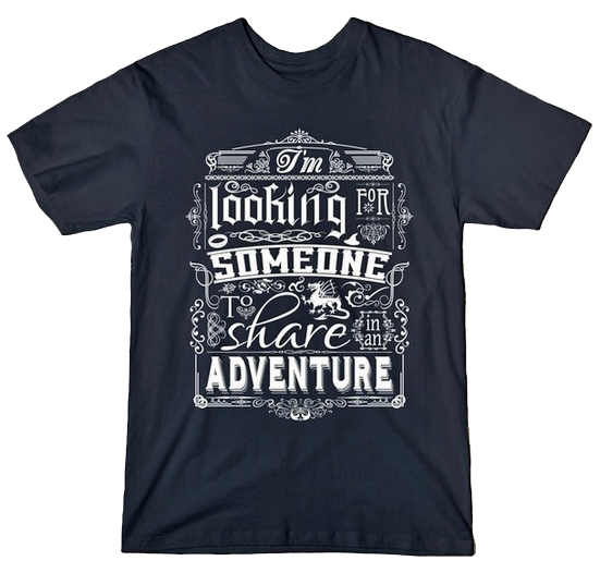 Gandalf Share In An Adventure tshirt
