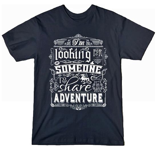 Gandalf Share In An Adventure tshirt