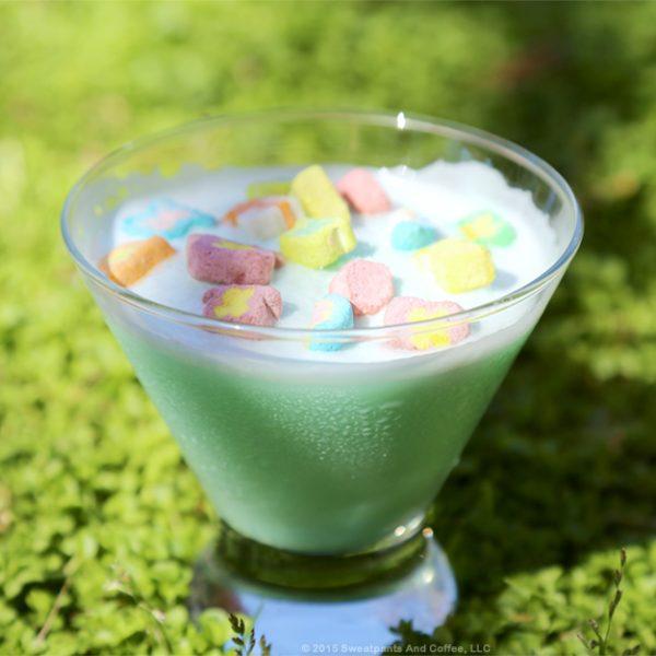 Lucky Me Crème De Menthe Shake recipe