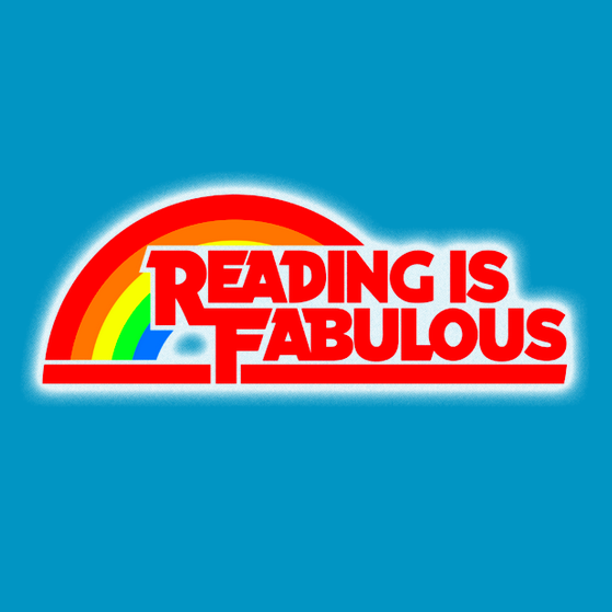 Reading Is Fabulous tshirt closeup