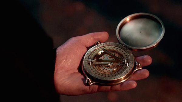 1 Supernatural Season Ten Episode Eighteen SPN S10E18 Book of the Damned Compass Finder