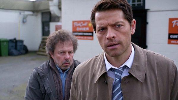 12 Supernatural Season Ten Episode Eighteen SPN S10E18 Book of the Damned Castiel Angel Misha Collins Metatron Curtis Armstrong