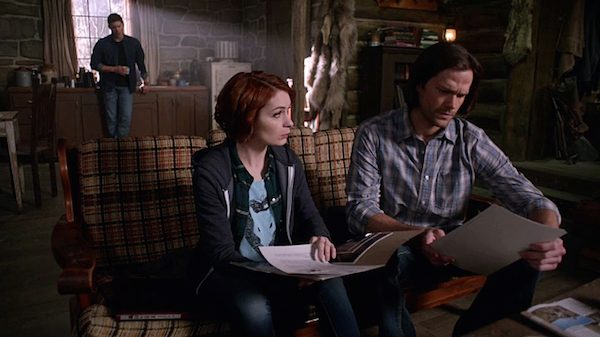 15 Supernatural Season Ten Episode Eighteen SPN S10E18 Book of the Damned Charlie Bradbury Felicia Day Dean Winchester Jensen Ackles Sam Winchester Jared Padalecki