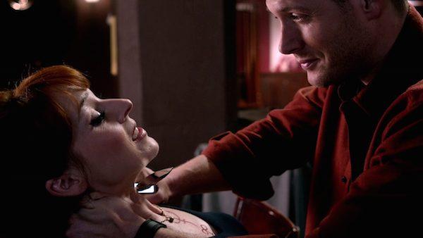 18 Supernatural Season Ten Episode Seventeen SPN S10E17 Inside Man Dean Winchester Jensen Ackles Rowena Ruth Connell