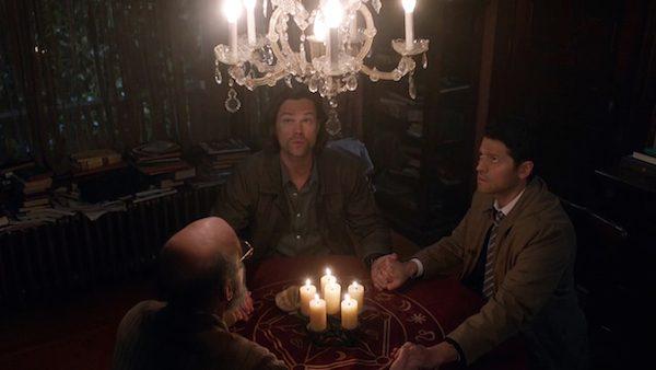 1a Supernatural Season Ten Episode Seventeen SPN S10E17 Inside Man Jared Padalecki Misha Collins Sam Winchester Castiel