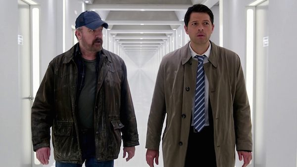 20 Supernatural Season Ten Episode Seventeen SPN S10E17 Inside Man Bobby Singer Jim Beaver Castiel Misha Collins