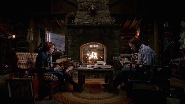 21 Supernatural Season Ten Episode Eighteen SPN S10E18 Book of the Damned Charlie Bradbury Felicia Day Sam Winchester Jared Padalecki