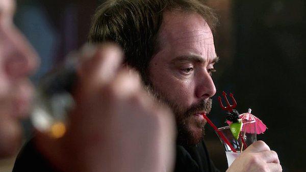 21 Supernatural Season Ten Episode Seventeen SPN S10E17 Inside Man Mark Sheppard Crowley Pitchfork