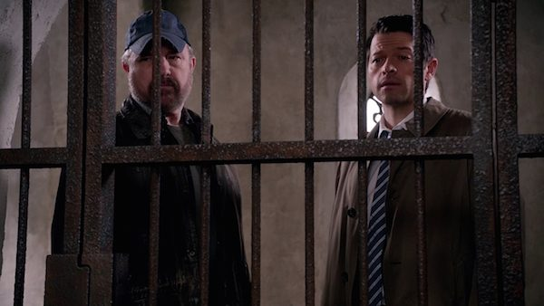 23 Supernatural Season Ten Episode Seventeen SPN S10E17 Inside Man Bobby Singer Jim Beaver Castiel Misha Collins