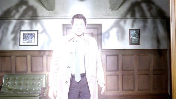 24 Supernatural Season Ten Episode Eighteen SPN S10E18 Book of the Damned Castiel Angel Misha Collins Grace Wings