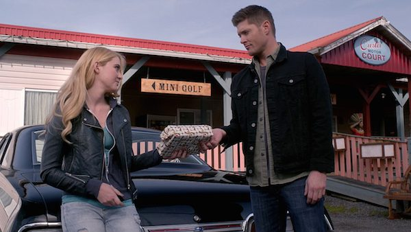 24 Supernatural Season Ten Episode Twenty SPN S10E20 Angel Heart Dean Winchester Jensen Ackles Claire Novak Kathryn Love Newton