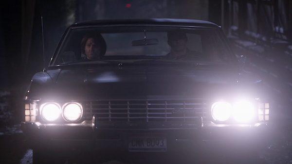 25 Supernatural Season Ten Episode Nineteen SPN S10E19 The Werther Project Sam Winchester Jared Padalecki Impala Dean Winchester Jensen Ackles