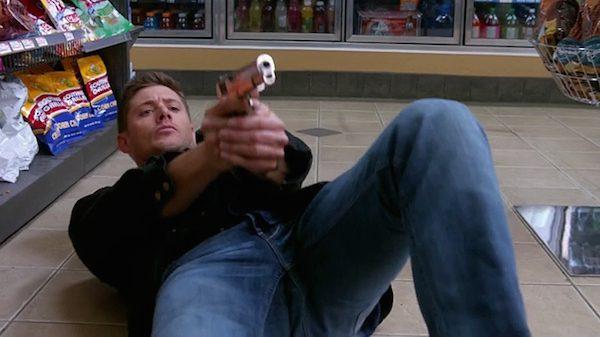 26 Supernatural Season Ten Episode Eighteen SPN S10E18 Book of the Damned Dean Winchester Jensen Ackles Gun