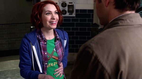 29 Supernatural Season Ten Episode Eighteen SPN S10E18 Book of the Damned Charlie Bradbury Felicia Day Castiel Angel Misha Collins