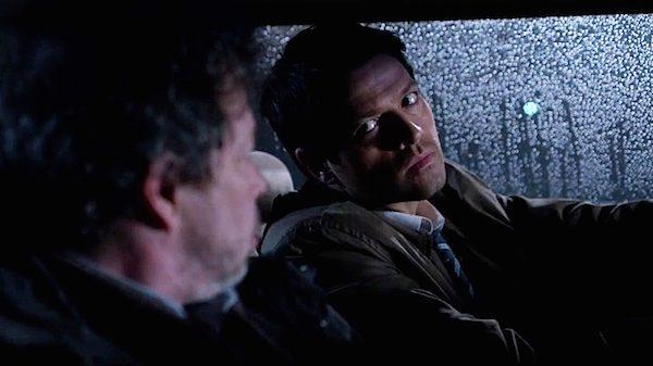3 Supernatural Season Ten Episode Eighteen SPN S10E18 Book of the Damned Castiel Angel Misha Collins Metatron Curtis Armstrong