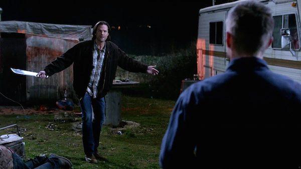 4 Supernatural Season Ten Episode Nineteen SPN S10E19 The Werther Project Sam Winchester Jared Padalecki Dean Winchester Jensen Ackles