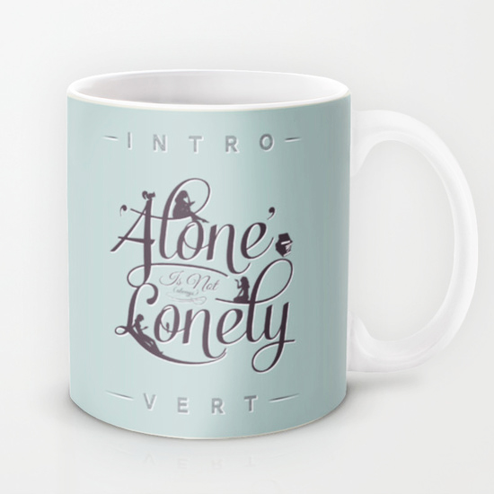 Alone Is Not Lonely by Andrew Treherne