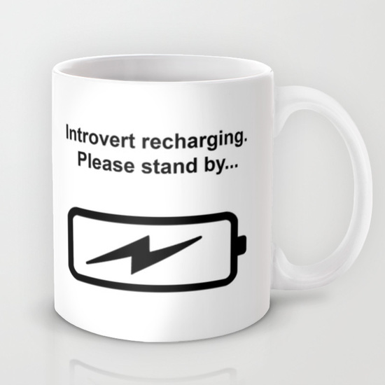 Introvert Batteries Recharging by Introvertology
