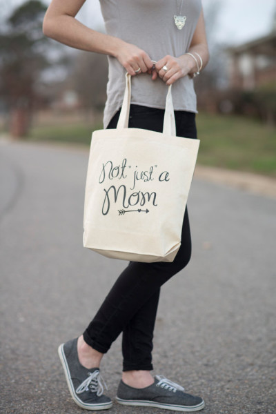 Not just a Mom tote