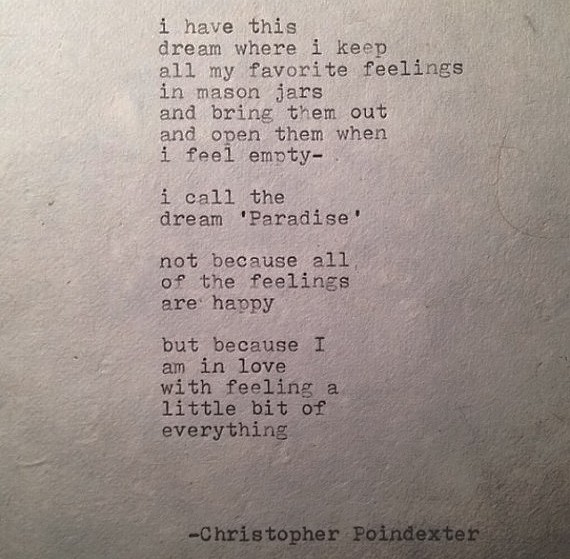 The Blooming of Madness poem 99 by Christopher Poindexter
