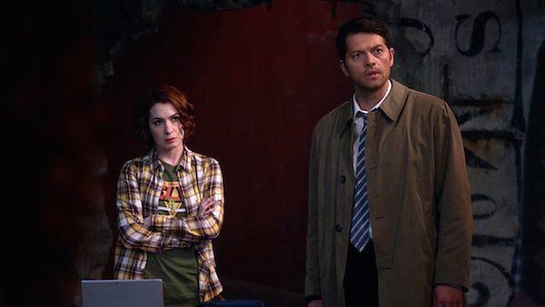 10 Supernatural Season Ten Episode Twenty One SPN S10E21 Dark Dynasty Charlie Bradbury Felicia Day Misha Collins Castiel