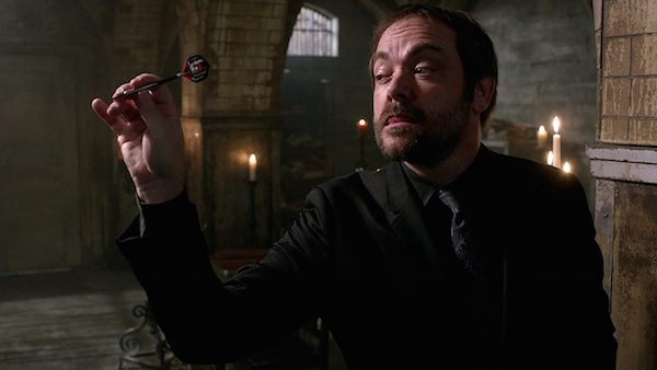 11 Supernatural Season Ten Episode Twenty One SPN S10E21 Dark Dynasty Crowley Mark Sheppard