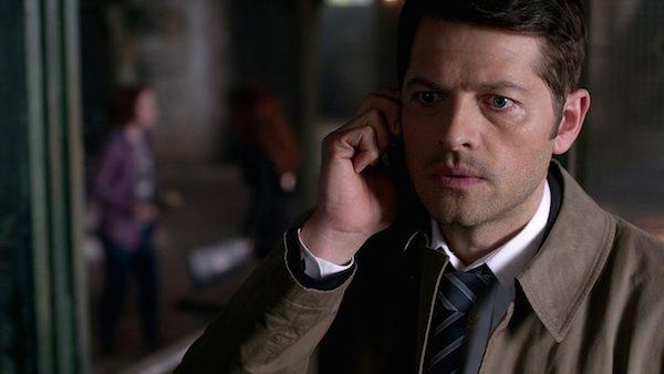 16 Supernatural Season Ten Episode Twenty One SPN S10E21 Dark Dynasty Castiel Misha Collins