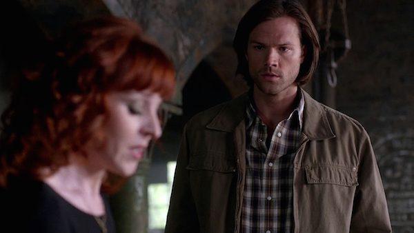 2 Supernatural Season Ten Episode Twenty One SPN S10E21 Dark Dynasty Sam Winchester Rowena Jared Padalecki Ruth Connell