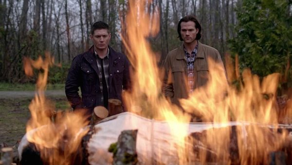 2 Supernatural Season Ten Episode Twenty Two SPN S10E22 The Prisoner Sam Winchester Jared Padalecki Dean Winchester Jensen Ackles