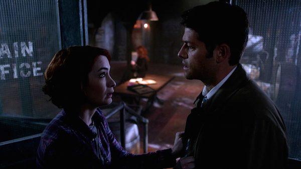 20 Supernatural Season Ten Episode Twenty One SPN S10E21 Dark Dynasty Charlie Bradbury Felicia Day Misha Collins Castiel