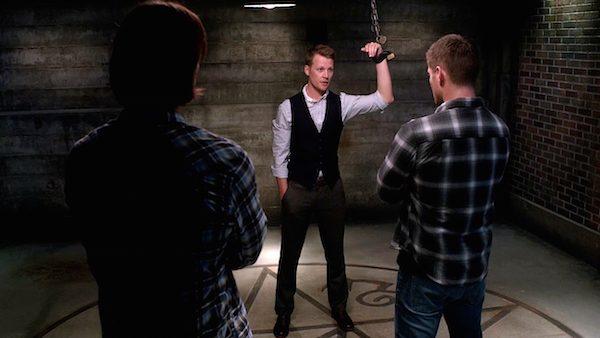 21 Supernatural Season Ten Episode Twenty One SPN S10E21 Dark Dynasty Elton Styne Dean Sam Winchester Jensen Ackles Jared Padalecki David Hoflin