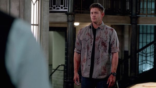 27 Supernatural Season Ten Episode Twenty Two SPN S10E22 The Prisoner Dean Winchester Jensen Ackles Bloody Styne