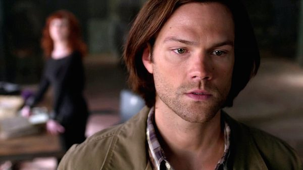 3 Supernatural Season Ten Episode Twenty One SPN S10E21 Dark Dynasty Sam Winchester Rowena Jared Padalecki Ruth Connell