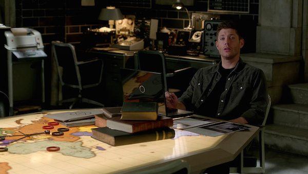 4 Supernatural Season Ten Episode Twenty One SPN S10E21 Dark Dynasty Dean Winchester Bunker Jensen Ackles