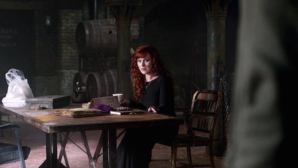 5 Supernatural Season Ten Episode Twenty Three SPN S10E23 Brothers Keeper Rowena Ruth Connell