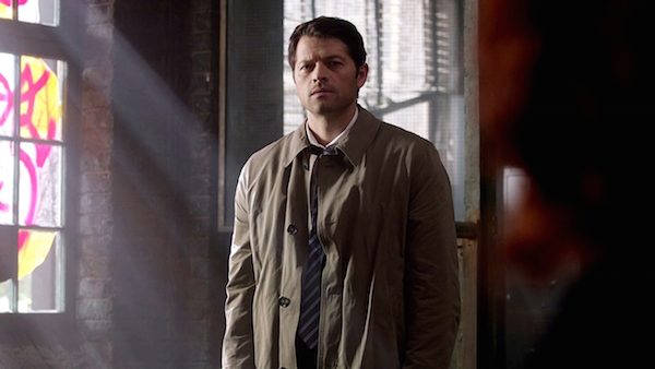 7 Supernatural Season Ten Episode Twenty Three SPN S10E23 Brothers Keeper Castiel Misha Collins