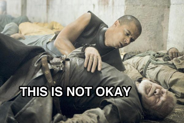 Game of Thrones 5x04 Barristan Grey Worm