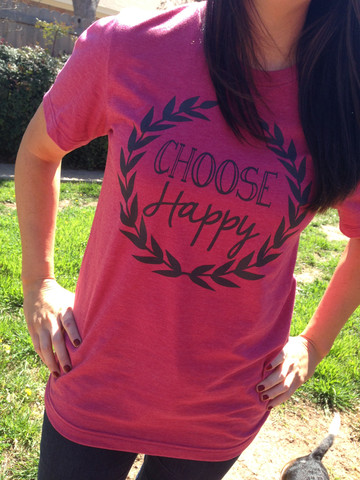 Live Simple Tees_Choose Happy