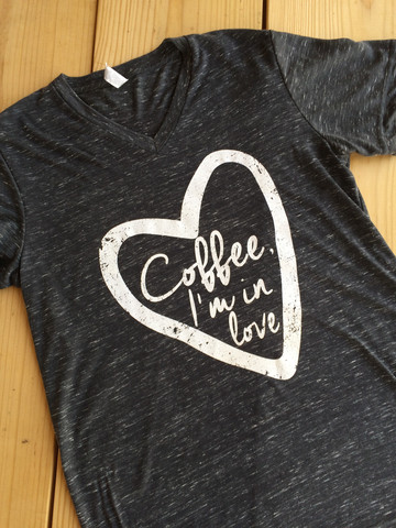 Live Simple Tees_Coffee I'm In Love