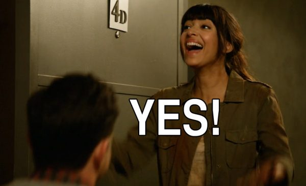 New Girl 4x22 Clean Break Schmidt Cece proposal