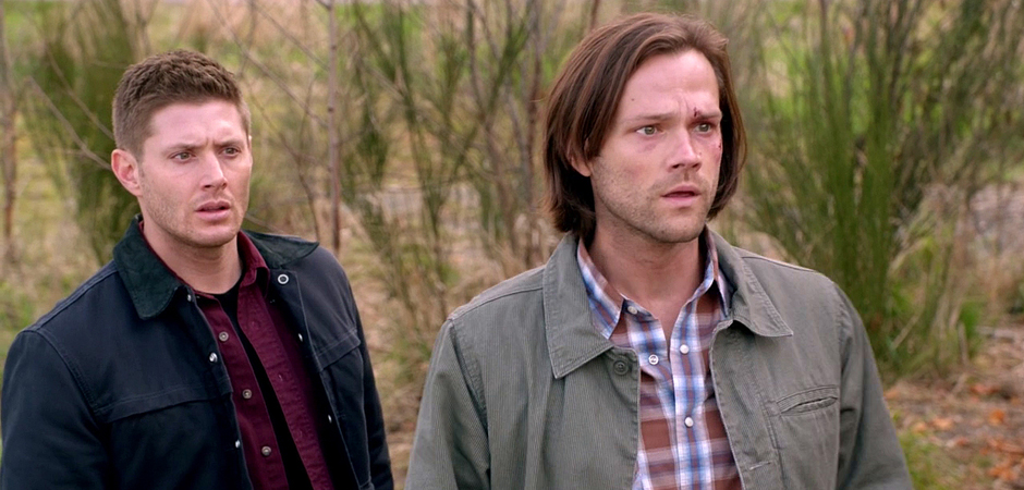slide_Supernatural Season Ten Episode Twenty Three SPN S10E23 Brothers Keeper Sam Jared Padalecki Dean Winchester Jensen Ackles
