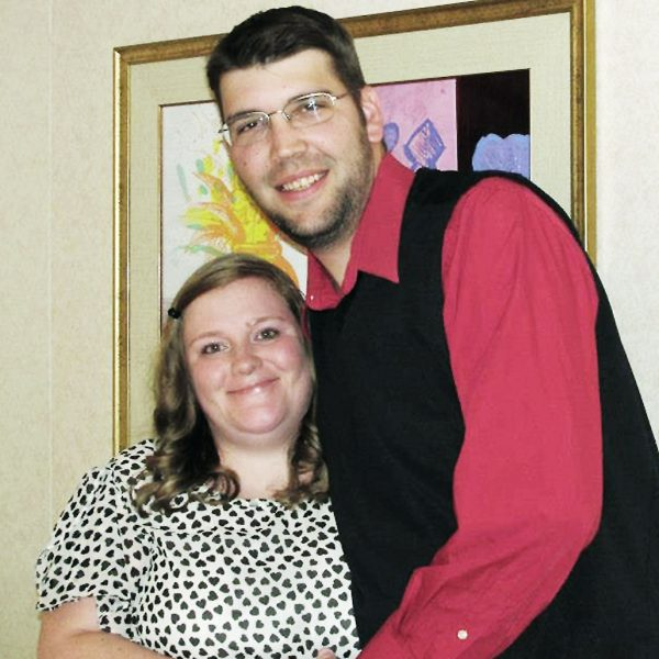Shandle and her husband, Greg.