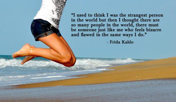Frida Kahlo strange quote