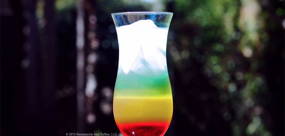 Rainbow Cocktail slide