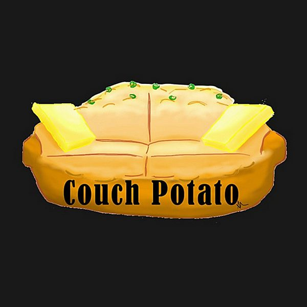 Couch Potato Self Portrait