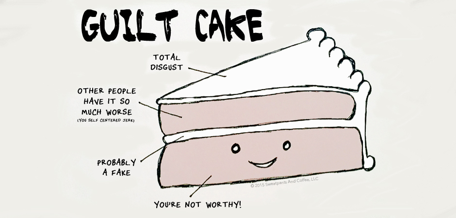 Guilt Cake is yummy