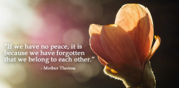 Mother Theresa peace quote slide