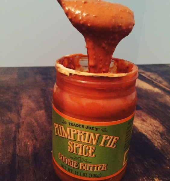 1) Pumpkin Pie Spice Cookie Butter