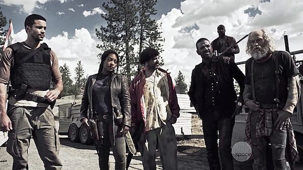 3 Z Nation Season Two Episode Three S2E3 Zombie Road Vasquez Warren Murphy Wrecking Ball Doc
